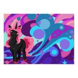 Unicornio de Popstar Invitación 12,7 X 17,8 Cm