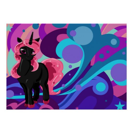 Unicornio de Popstar Poster