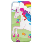 Unicornio del arco iris - caso del iPhone de iPhone 5 Funda