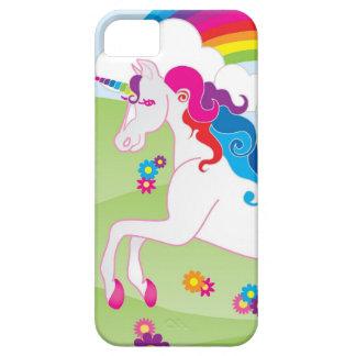 Unicornio del arco iris - caso del iPhone de iPhone 5 Fundas