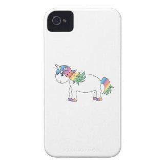 Unicornio del arco iris iPhone 4 carcasa