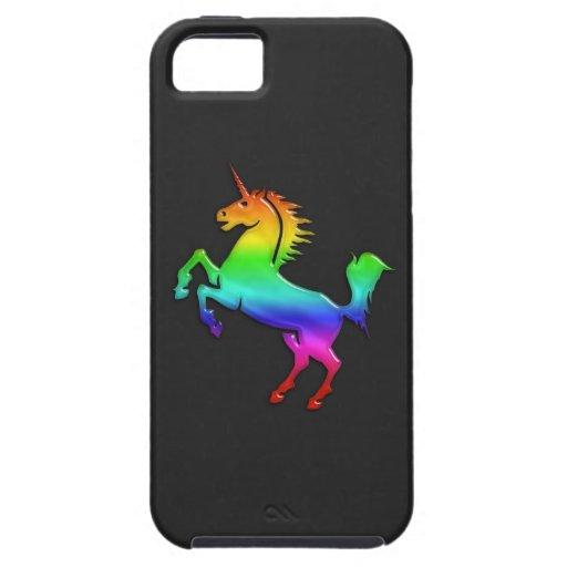 Unicornio del arco iris funda para iPhone SE/5/5s