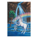 Unicornio del arco iris impresiones
