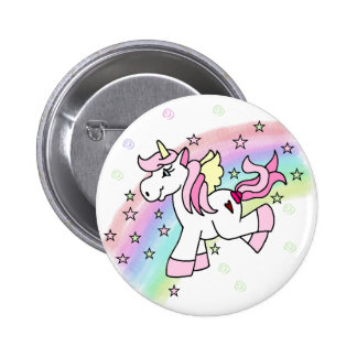 Unicornio del arco iris pins