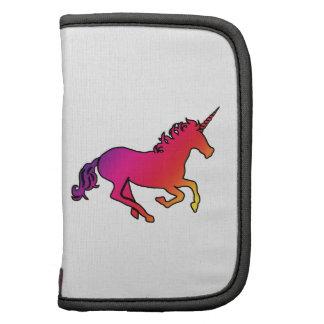 Unicornio del arco iris organizador