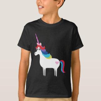 Unicornio del arco iris playera