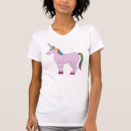 Unicornio del arco iris remera