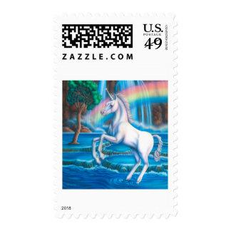 Unicornio del arco iris sellos
