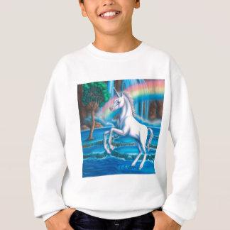 Unicornio del arco iris sudadera