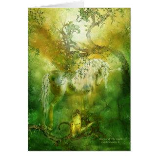 Unicornio del bosque ArtCard Tarjeta De Felicitación