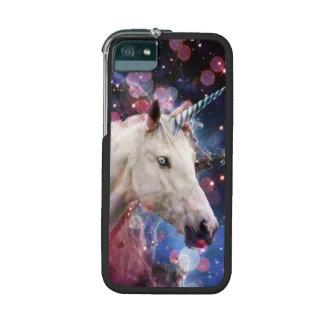 Unicornio del espacio con Bokeh