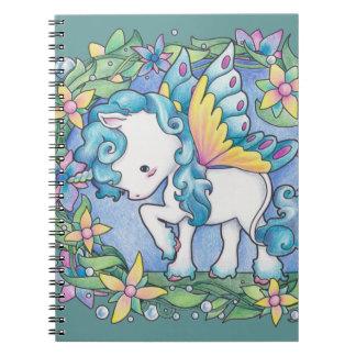 Unicornio del Faerie Cuadernos