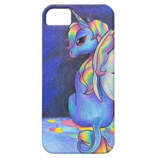 Unicornio del Faerie del arco iris iPhone 5 Funda