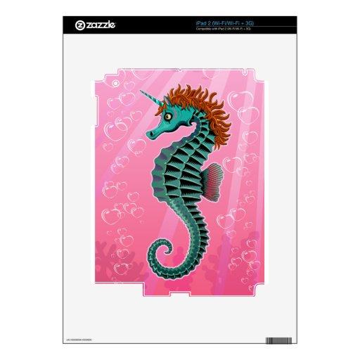 Unicornio del mar calcomanías para el iPad 2