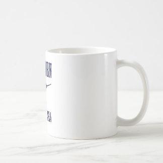 Unicornio del mar (Narwhal) Tazas De Café