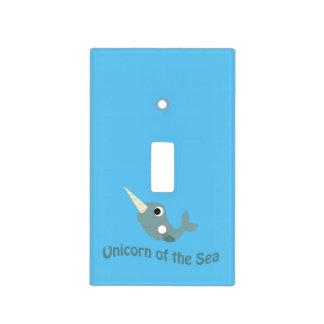 Unicornio del mar placas para interruptor