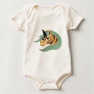 ¡Unicornio del tigre lindo! Mamelucos