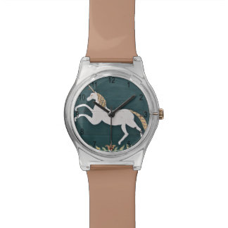 Unicornio del vintage relojes de mano