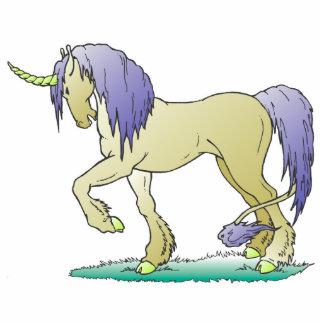 unicornio derecho fotoescultura vertical