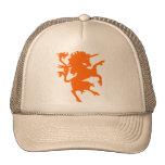 Unicornio desenfrenado gorros bordados