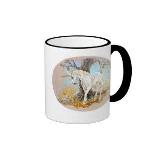 Unicornio - el extremo del verano taza de dos colores