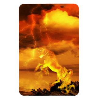 Unicornio electrificado imán flexible