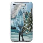 Unicornio en el caso de iTouch del claro de luna Case-Mate iPod Touch Carcasas