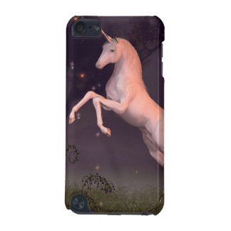 Unicornio en un claro iluminado por la luna del bo funda para iPod touch 5G