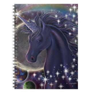 Unicornio estelar libros de apuntes