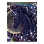 Unicornio estelar postal