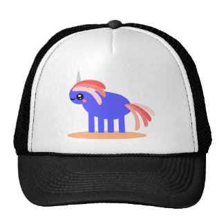 Unicornio extraño gorros bordados