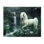 unicornio-fantasía postal