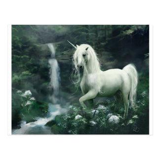 unicornio-fantasía tarjetas postales