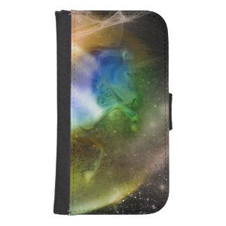 Unicornio galáctico carteras para teléfono