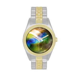 Unicornio galáctico reloj