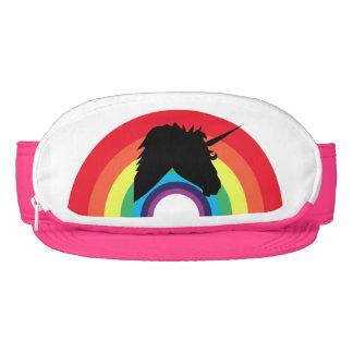 ¡Unicornio gótico y arco iris! Visera