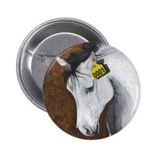 Unicornio: ¿Hasta dónde iríamos? Pin Redondo De 2 Pulgadas