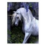Unicornio hermoso postal