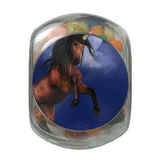 Unicornio iluminado por la luna frascos de cristal jelly belly
