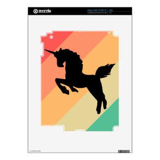 unicornio iPad 2 calcomanías