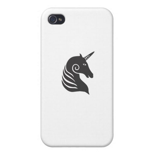 Unicornio iPhone 4 Carcasas