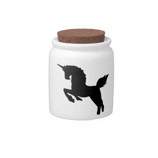 unicornio jarra para caramelo