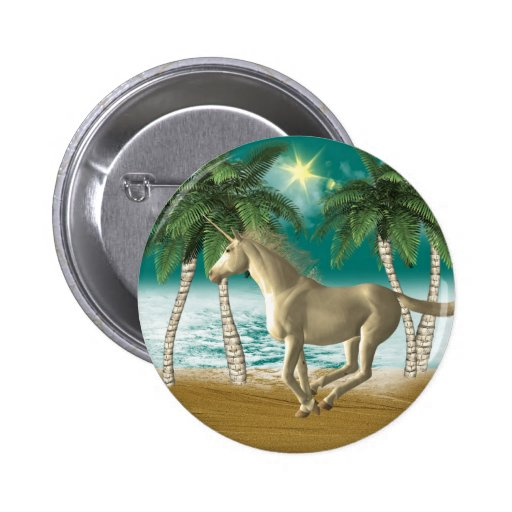 Unicornio juguetón pin