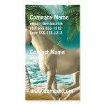 Unicornio juguetón tarjetas de visita