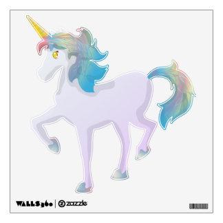 Unicornio ligero lindo del arco iris vinilo