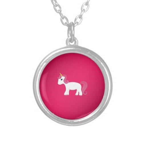 Unicornio lindo collar personalizado