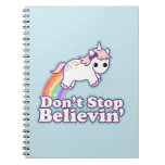 Unicornio lindo cuadernos