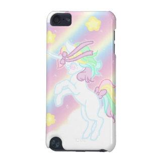 Unicornio lindo del arco iris funda para iPod touch 5G