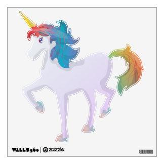 Unicornio lindo del arco iris vinilo