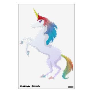 Unicornio lindo del arco iris vinilo decorativo